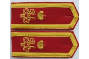 Погоны юнкера Николаевского Артиллерийского Училища образца 1915 года, РИА, копия