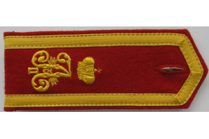 Shoulder straps of the cadet 3-nd Moscow Emperor Alexander II cadet corps, Russian Imperial Army, Repro