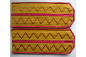 Shoulder straps of captain hussars, Russian Imperial Army, WW1, Repro