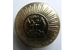 Button uniform button, cast, corps of cadets , RIA, Repro