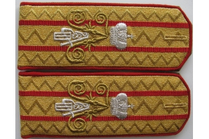 Shoulder Straps Of His Imperial Majesty Emperor Nicholas II, WW1, Repro