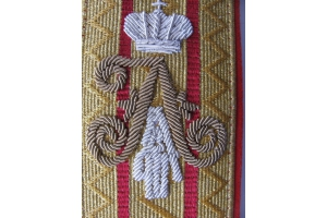 Shoulder-boards of His Imperial Majesty the Emperor Nicholas II, Russian Empire, Repro
