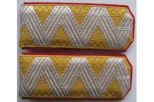 Epaulettes, shoulder straps General of Infantry in retirement,Russian Empire, Repro