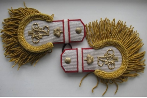 Epaulettes retired general retinue of His Imperial Majesty Alexander III Replica