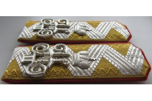 Shoulder-straps General of Infantry retired, Russian Imperial Army, Repro