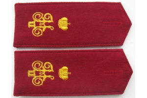 WW1 Ceremonial shoulder straps cossak(soldier) 6th Kuban plastun battalion Repo