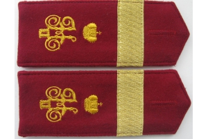 WW1 Ceremonial shoulder straps Feldwebel 6th Kuban plastun battalion Repo