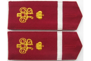 WW1 Ceremonial shoulder straps 6th Kuban plastun battalion Repo
