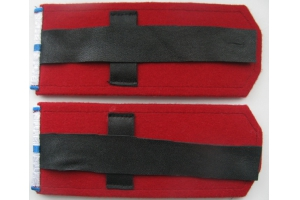 Shoulder straps of the captain of the don Cossack army, Russian Empire, Repro