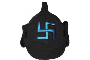 """Зимний шлем """"Буденовка"""", периода Гражданской Войны Калмыкии , копия"""