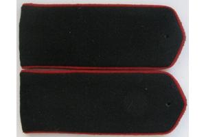 Погоны повседневные образца 1943 года, рядовой (Автобронетанковые войска/Артиллерия) РККА, СССР, копия