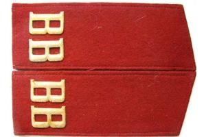 Погоны рядового состава внутренних войск СССР, с накладными буквами