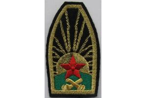 Нарукавный знак артиллерийскиих частей РККА образца  1922 года, РСФСР, копия