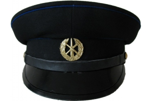 Фуражка пожарника СССР образца 1980 года