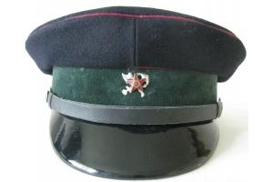 Головной убор, фуражка командира взвода охраны образца 1927 года, ВОХР ГВФ, СССР,копия