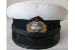Summer service cap worn by GUGVF commanders M1936, WW2, Soviet Civil Aviation, Replica