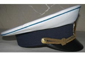 Летняя фуражка лётно-подъёмного состава МГА, образца 1965 года, копия, ГВФ,СССР