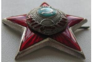 Знак на головной убор младшего начальствующего и рядового состава РКМ, образца 1939 года, СССР, копия
