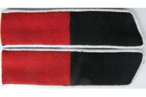 Петлицы на шинель Корниловского ударного полка  образца 1919 года, копия