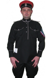 Uniform officers Kornilov Regiment M1920, WW1, White Army, Replica Tunic with black buttons