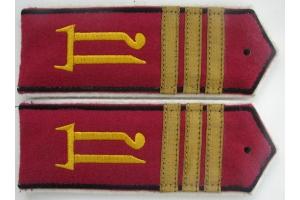 Погоны старшего унтер офицера образца 1918 года Дроздовский полк ( белое движение )копия