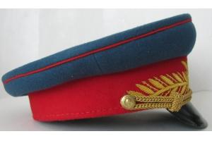 Фуражка парадная генерала Красной Армии, образца 1945 года, Советский Союз, Копия