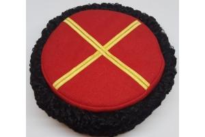 Шапка-кубанка для командного состава кубанских, Казачьих частей образца 1936 года, Копия