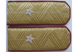 Everyday shoulder-straps of major General of the red army type 1943, WW2, Repro