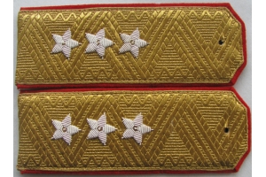 Everyday shoulder-straps of Colonel-General of the red army, M1943, WW2, Repro