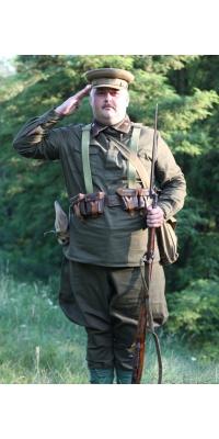 Летняя форма рядового состава РККА ,образца 1935 года, копия