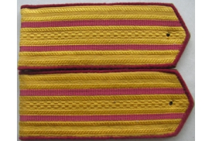Everyday shoulder-straps senior officers, infantry, type 1943, WW2, Red Army, Repro