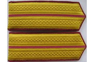 Everyday shoulder-straps junior officers, infantry, type 1943, WW2, Red Army, Repro
