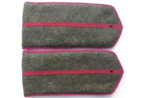 Shoulder straps field Junior officers of the infantry Red Army, type 1943, WW2, Repro