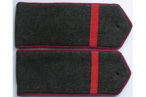 Field shoulder boards, infantry corporal of the red army type 1943, WW2, Repro
