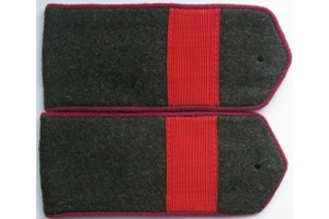 Field shoulder boards, staff Sergeant (infantry) the red army, type 1943, WW2, Repro