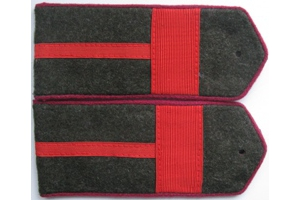 Field shoulder boards, Sergeant infantry of the red army, type 1943, WW2, Repro