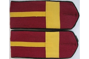 Shoulder straps, everyday, petty officer corps of the red army, type 1943, WW2, Repro