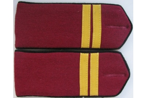 Everyday shoulder-straps Junior Sergeant of infantry of the red army type 1943, WW2, Repro