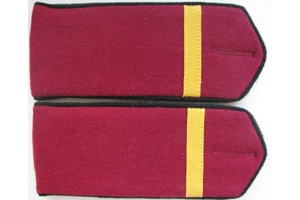 Everyday shoulder boards, infantry corporal of the red army type 1943, WW2, Repro