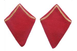 Петлицы ком состава, пехота, РККА, образца 1940 года , копия