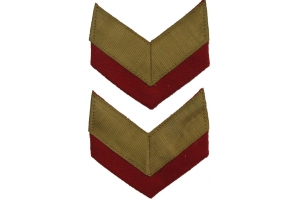 WW2 A pair of sleeve patch of General of the Army type 1940, Red Army Repro