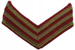 WW2 Pair Shoulder sleeves insignia command personnel of RKKA/NKVD ( senior Lieutenant )type 1943 Repro