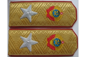 Shoulder-straps Marshal of the Soviet Union 1943 type, WW2, Replica