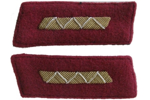 Parade Buttonhole Junior officers of the red army , infantry, drill part, type 1943, WW2, Repro