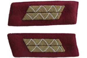 Parade Buttonhole Senior officers of the red army , infantry, drill part, type 1943, WW2, Repro