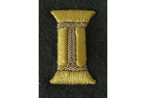 A pair of Golden coils for the cuffs of the sleeves of the ceremonial uniform of Junior or senior officers Red Army, WW2, Repro
