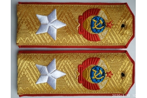 WW2 Shoulder straps, Marshal Of The Soviet Union type 1943 Repro