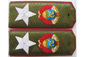 Field shoulder straps, epaulets of the Marshal of the Soviet Union type 1943, Red Army, WW2, Repro