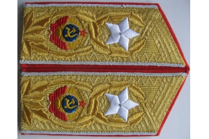 Shoulder straps Generalissimus of the Soviet Union 1945 type WW2 Replica