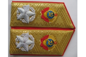 Shoulder straps Generalissimus of the Soviet Union 1945 type 2 WW2 Replica